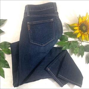 Paige Kylie Cropped Skinny Jeans Dark wash
